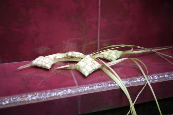 the plam frawn offerings woven together