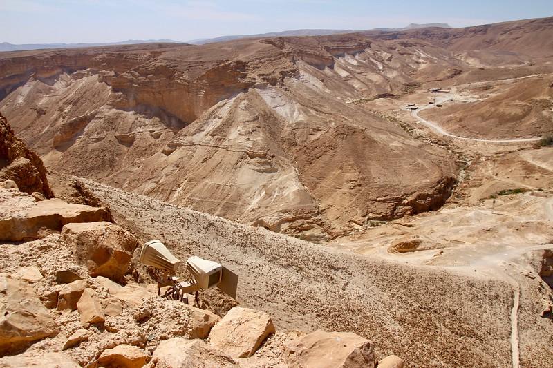 Roman siege ramp - Masada National Park