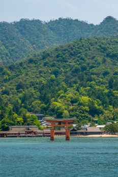 ferry to miyajima island