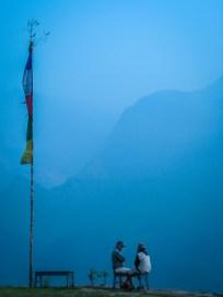 Himalayan mountains of Nepal