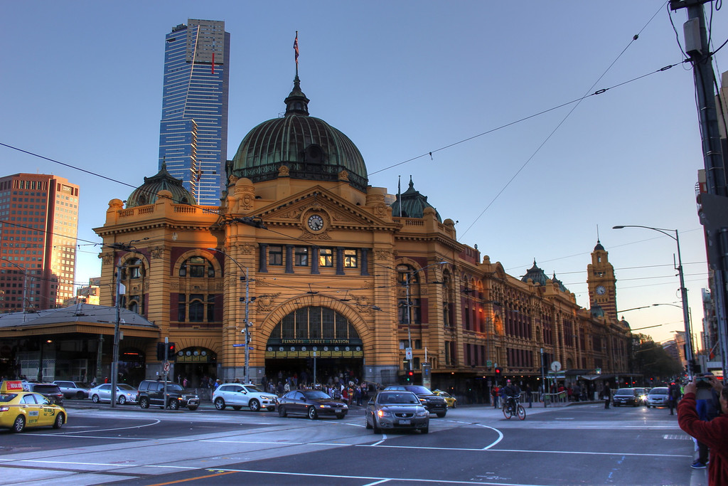 Flinders Street Station melbourne