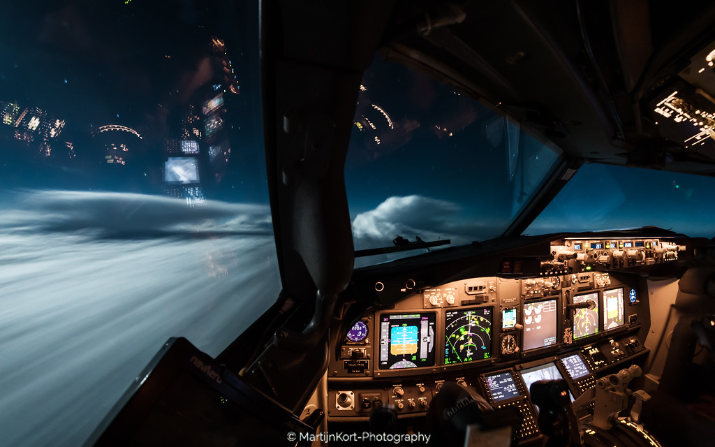 Flying through thunderstorms