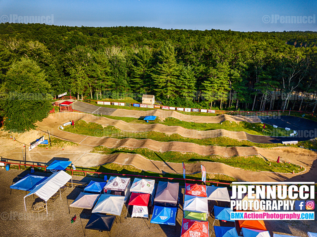Woodland BMX and Dan's Place Aerial Pictures