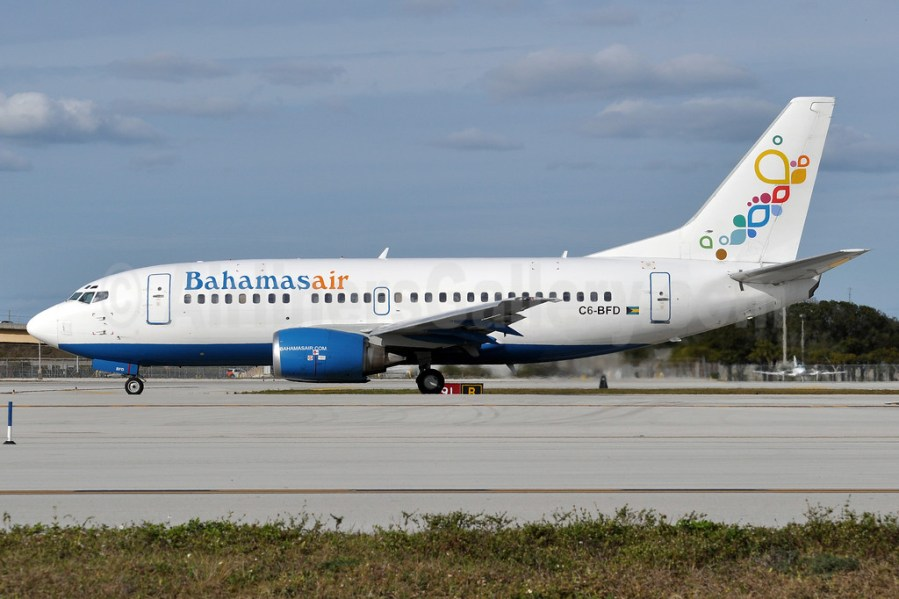 Bahamasair   Bruce Drum  AirlinersGallery com