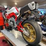 2008 Bimota Tesi 3d With 137 Miles Iconic Motorbike Auctions
