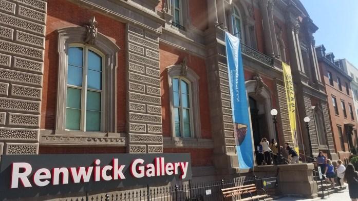 Renwick Gallery Entrance
