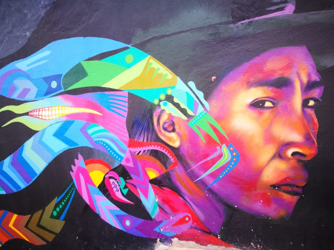 A strong & moving piece representing the indigenous peoples of Colombia by Gauche
