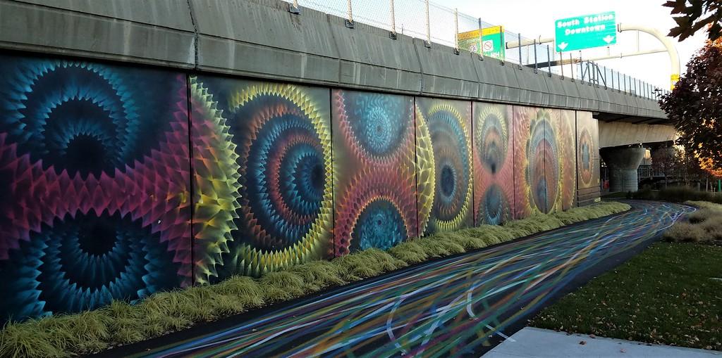 Hoxxoh street art in Boston, MA