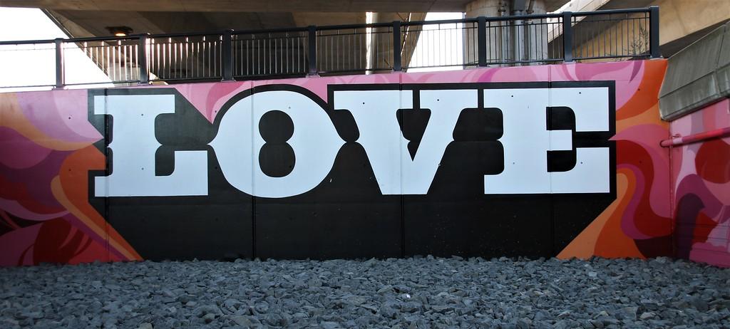 Love Mural in Boston, MA