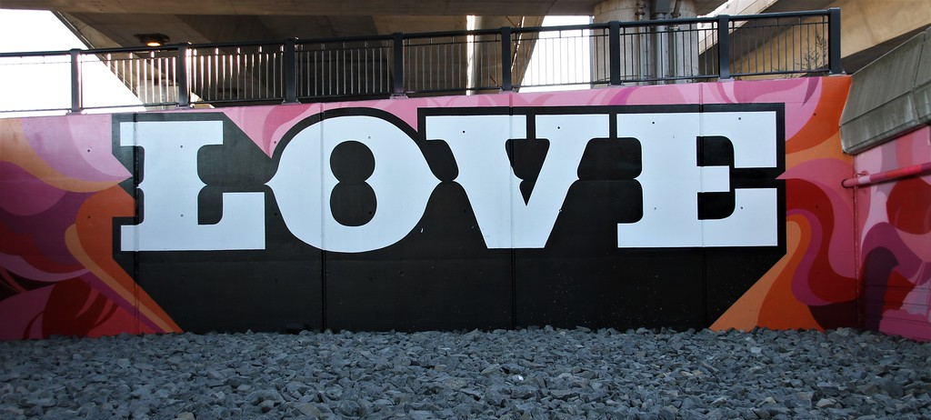 Love Mural in Boston, MA
