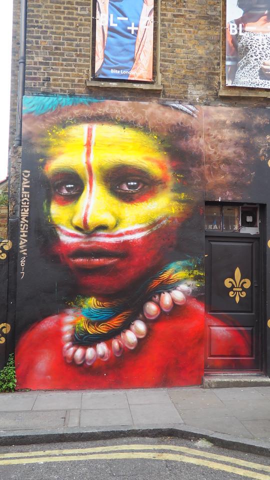 beautiful street art in London