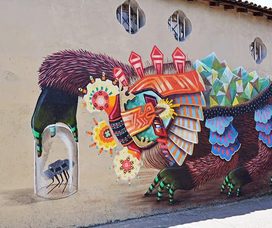 street art by Curiot