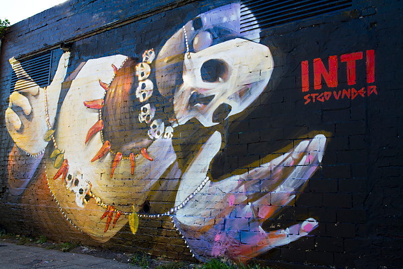 Street art by - INTI