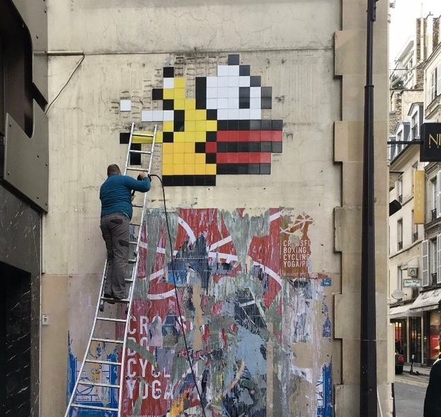 Broken Tiles on Flappy Bird - The Story of the Flappy Bird Redo - StreetArtChat.com
