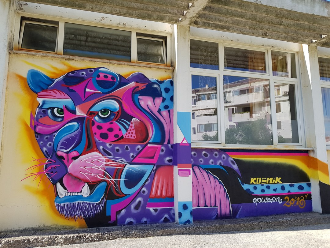 Street Art Chat Interview with Kosmik One - What is your favorite piece & why