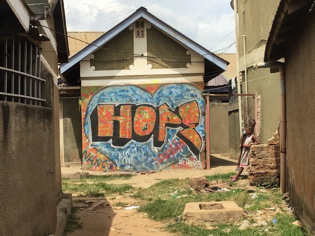 Artist: Rach and Kitintale Children Location: Kitintale, Uganda
