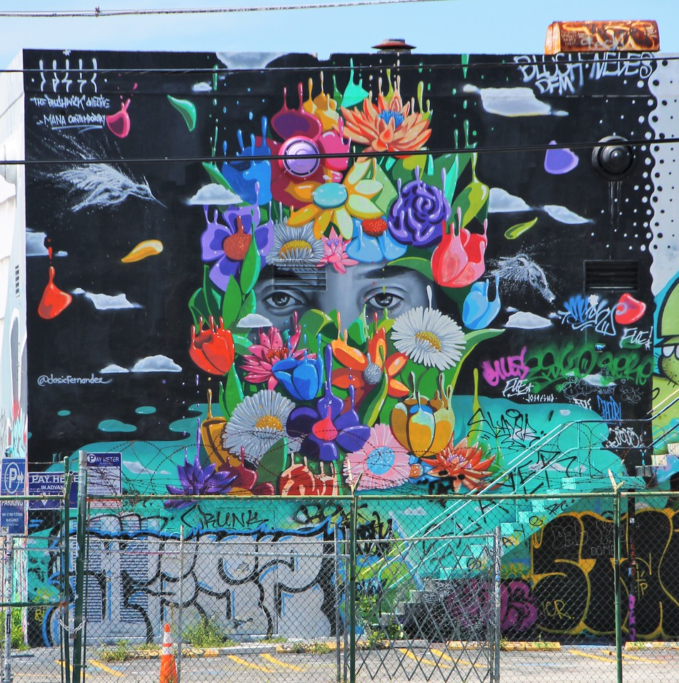 Amazing mural - Street Artist Sprite's Inspiring Mental Health Message - StreetArtChat.com