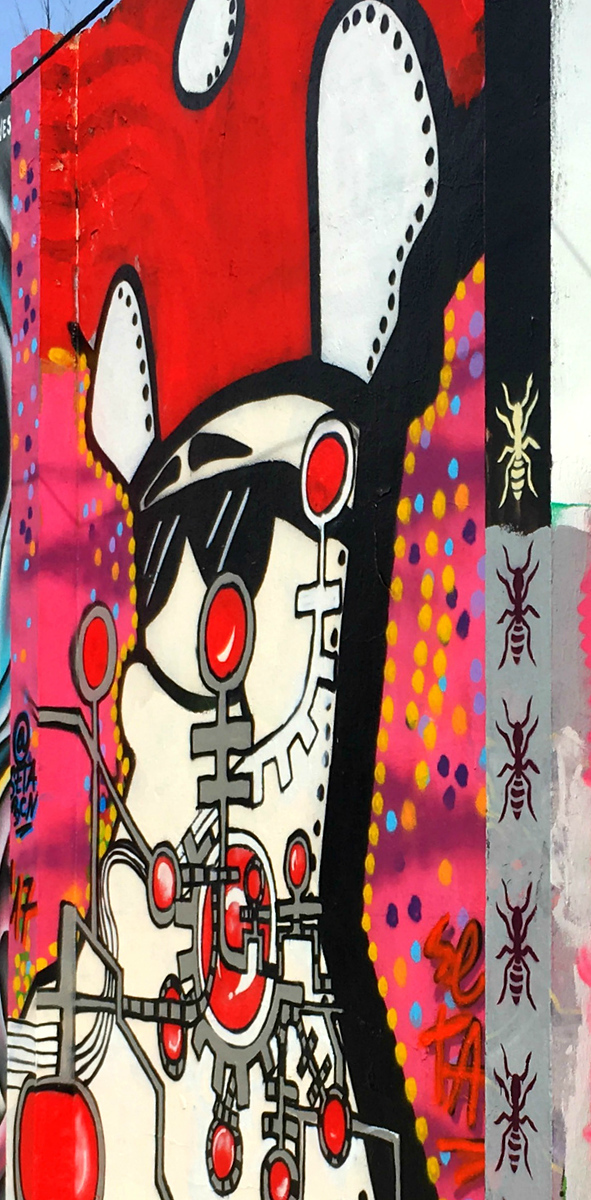 Creative art - Street Art of Barcelona - StreetArtChat.com