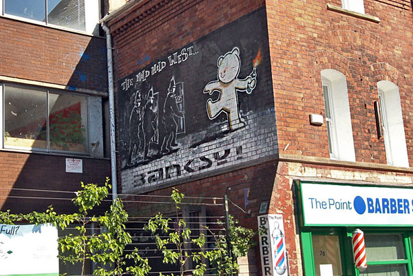 Best street art by the artist Banksy