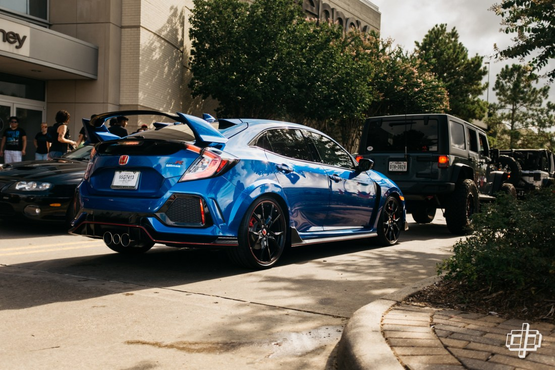 houston coffee and cars honda civic type r