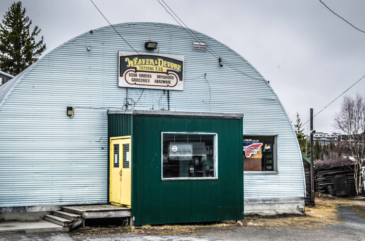 Yellowknife Old Town