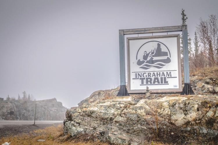 Ingrahams Trail in Yellowknife
