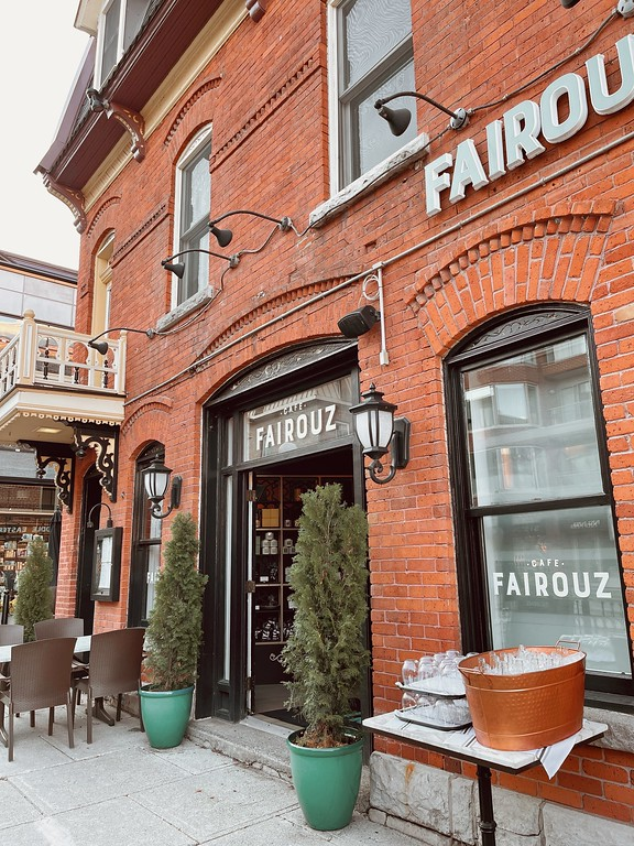 Fairouz Cafe in the ByWard Market in Ottawa