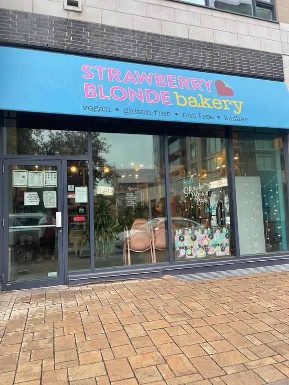 Strawberry Blonde, a vegan and gluten-free bakery in Ottawa