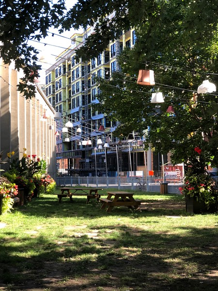 Relax in this Griffintown, Montreal park!