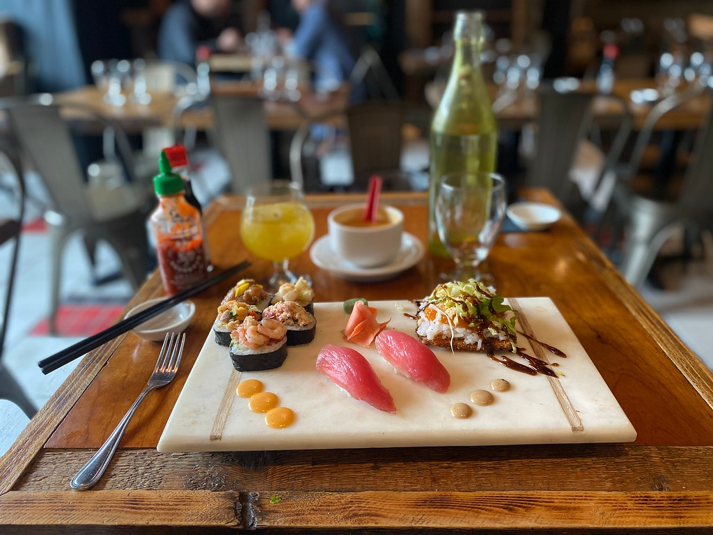 Miyagi Thai & Sushi in Limoilou