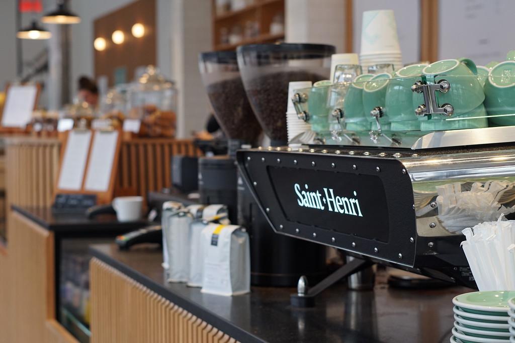 Third wave coffee at Café Saint-Roch, Quebec City