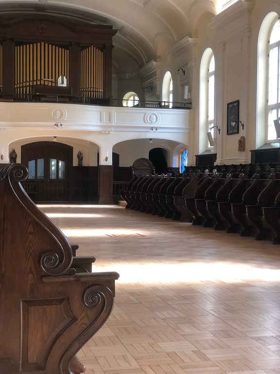 Chapel at the monastery in Old Quebec City