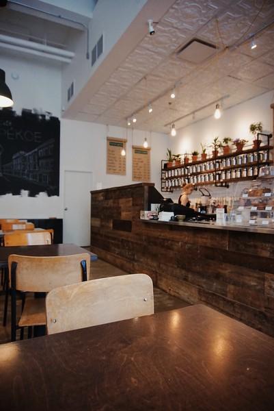 Cafe Pékoe in Saint-Roch