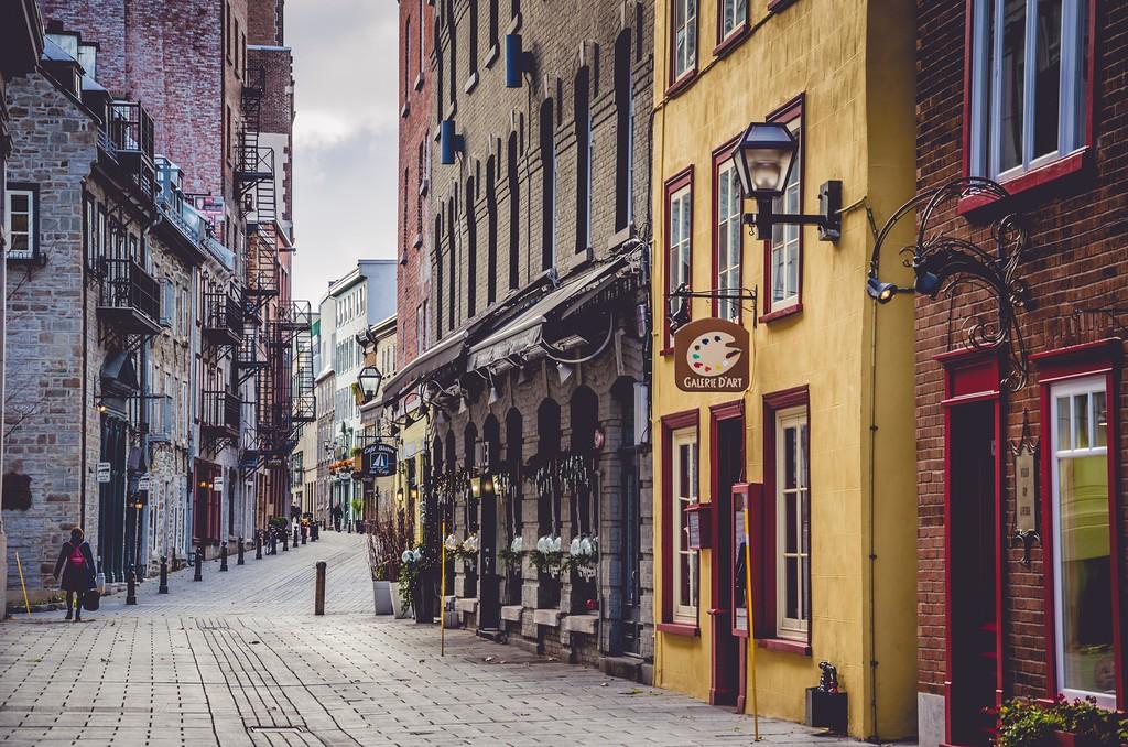 Walking around Old Port, Quebec City