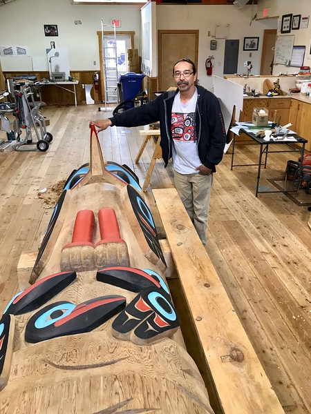 woodcarver Keith Wolfe Smarch