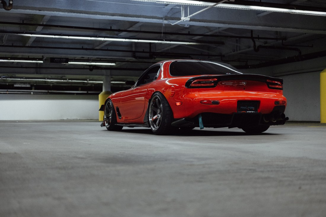 Clay Barnett's Mazda FD RX-7 Super Street feature