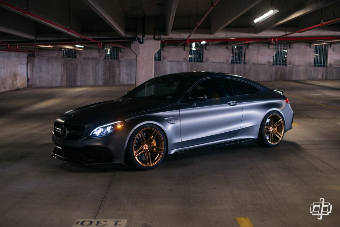 Mercedes amg c63 vossen wheels houston automotive for How much is a mercedes benz c63 amg
