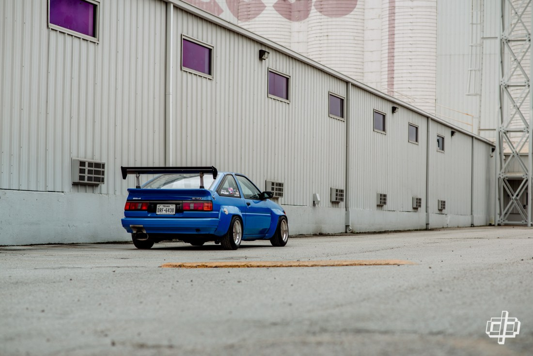 the ricer series pec n2 ae86 levin dtphan houston tx