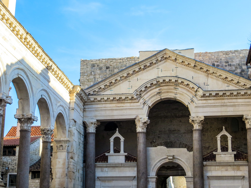 Don't allow your Europe backpacking route to skip Split in Croatia.