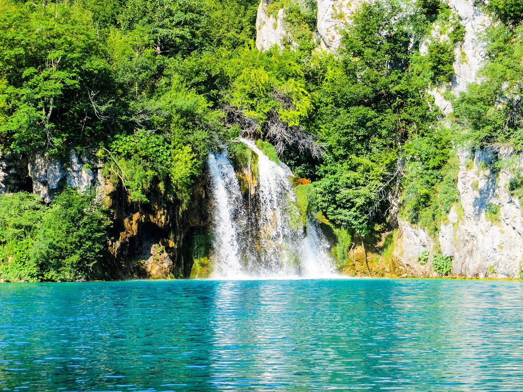 Plitvice Lakes National Park is beautiful