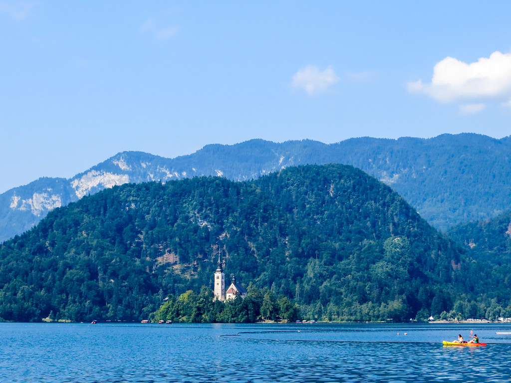 travel alone europe to lake bled. this lake is a fantastic place to travel alone in europe