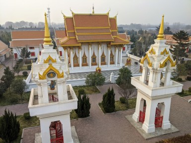 Thai Temple Wat Hame Assavaram at White Horse Temple