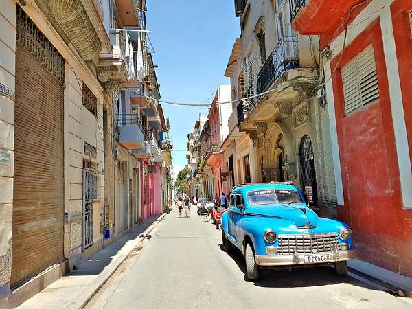 Exploring Havana - Old Car in Old Havana