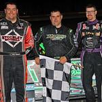 Top 3 Ryan Robinson Max Blair Austin Hubbard