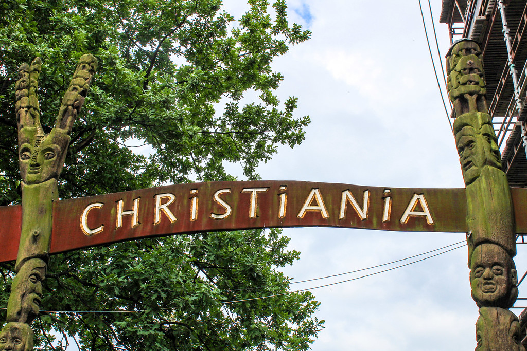 Christiania is an awesome place for solo travel in Copenhagen