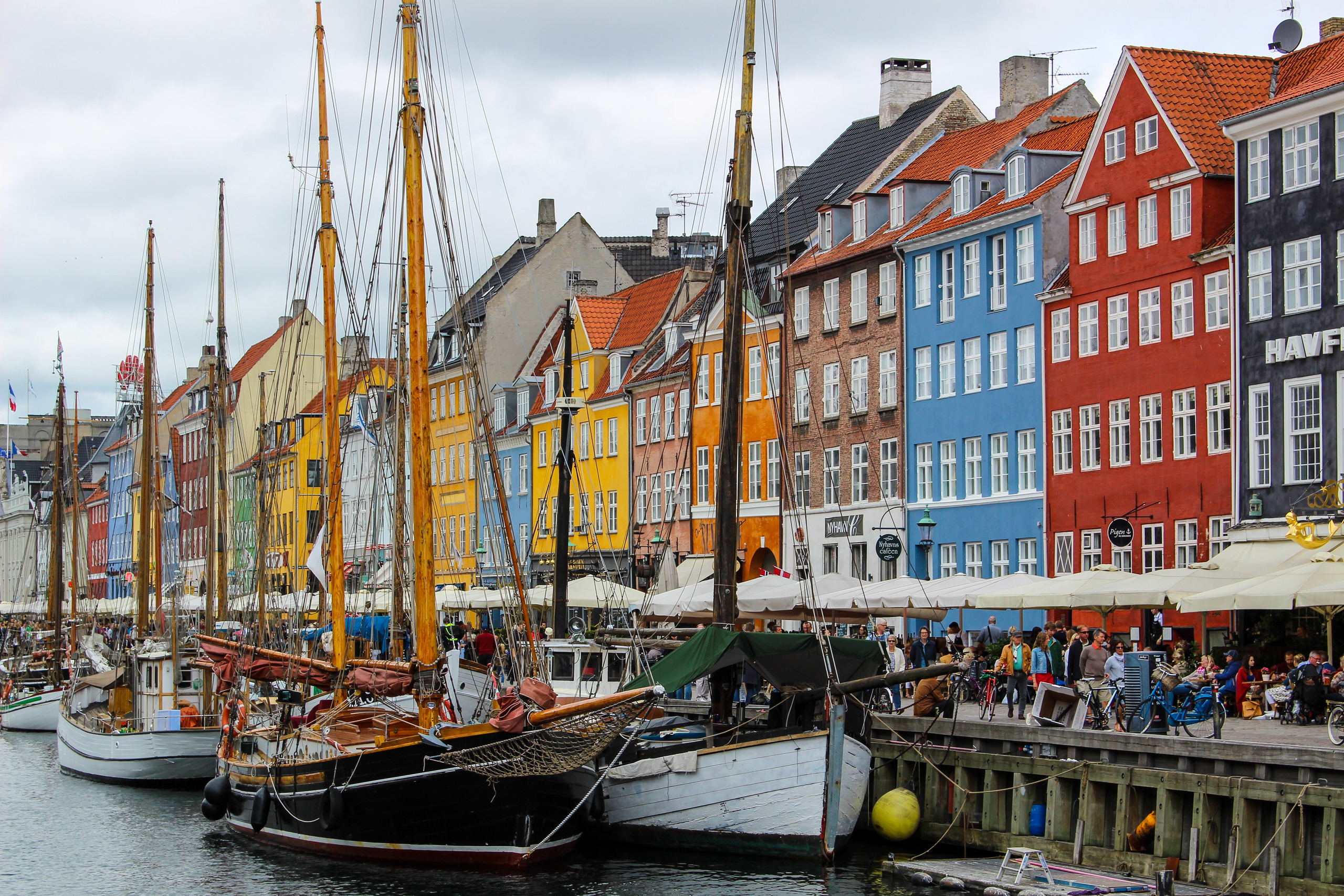 first time travelling overseas? copenhagen is an easy destination
