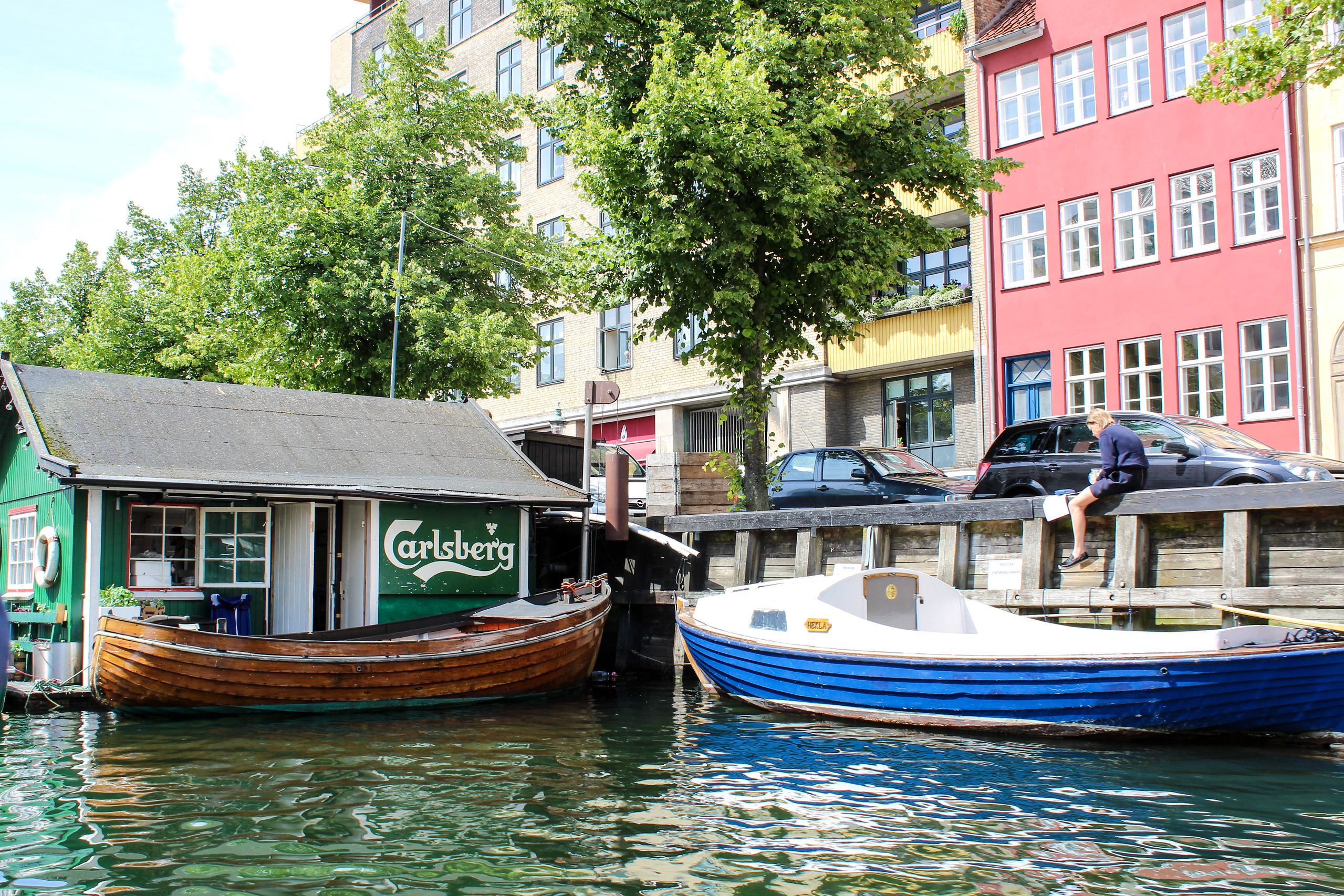 see the canals with 2 days in copenhagen