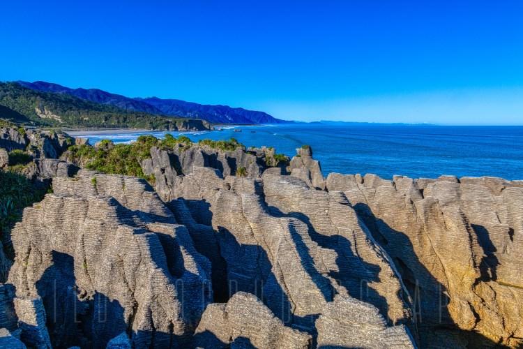 Putai Blowhole, Pancake Rocks New Zealand