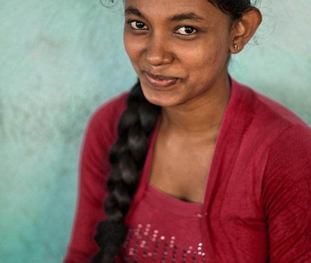 Young Sri Lankan Woman
