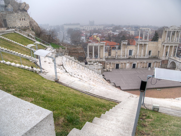 Plovdiv's Roman Theater Sees Time And Use In Bulgaria Today